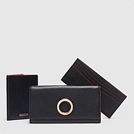 LEATHER SOLIS TRAVEL WALLET TRIO