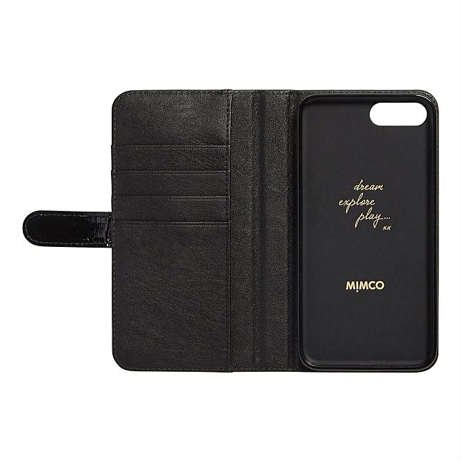 black flip case iphone 7