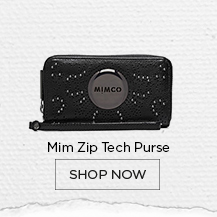 Mim Zip Tech Purse